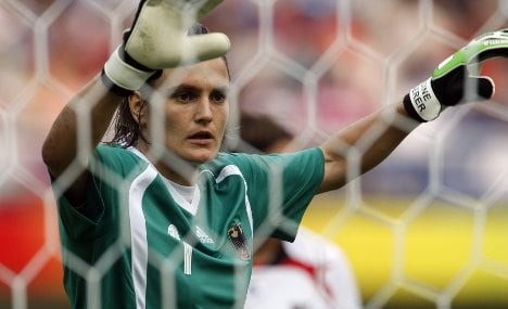 Goalie Angerer reveals she is bisexual