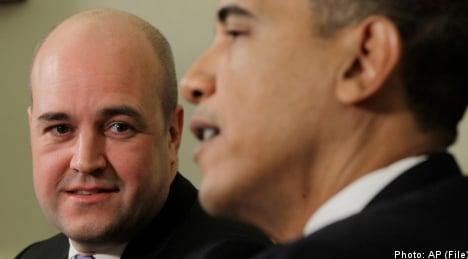 Reinfeldt keen on housework: US embassy