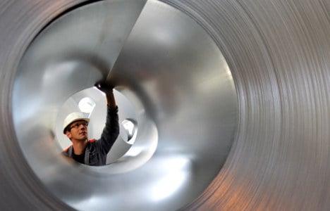 Industrial orders gain on domestic demand