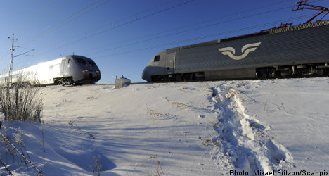 Swedish rail problems roll into second day