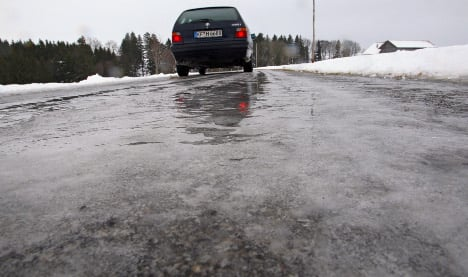 Dangerous conditions follow thaw