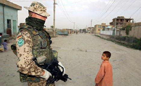 Surging Afghan dislike of Bundeswehr troops
