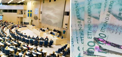 Bid to reform Swedish political donations fails