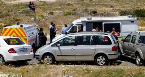 Slain Swede's husband implicated in plot