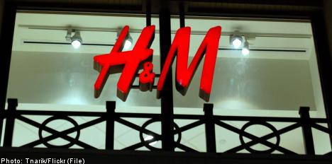H&M stock dips on profits fall