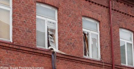 Grenade explodes in Malmö apartment