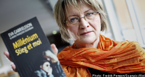 Gabrielsson blames Millennium feud on men who hate women