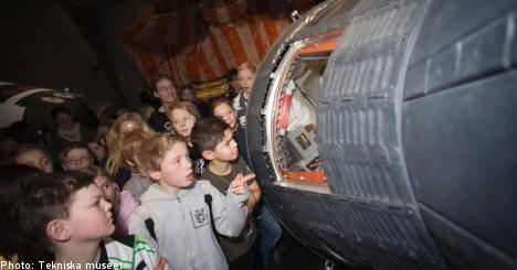 NASA history goes on display in Stockholm
