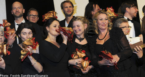 Swedish films evenly split Guldbaggen awards