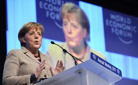 Merkel says debt biggest danger to Europe