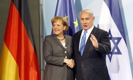 Merkel in Israel for two-day visit