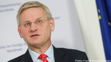 Bildt: North Africa faces 'demographic tsunami'