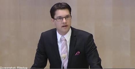 Sweden 'lacks tools' to fight extremism: Åkesson