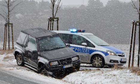 Dozens hurt in accidents as winter returns