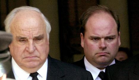 Helmut Kohl's son tells of failed relationship