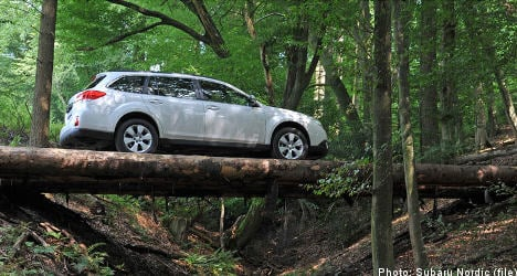 Subaru mulls green car production in Sweden