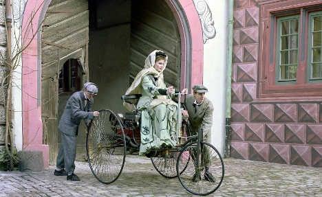 Germany celebrates automobile's 125th anniversary