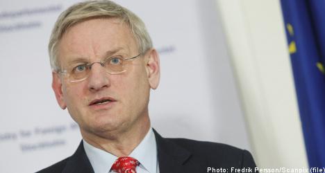 Bildt's silence on WikiLeak fuels criticism