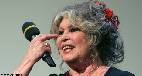 Brigitte Bardot slams Swedish wolf hunt