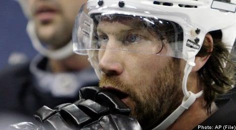 Sweden's Peter Forsberg retires from ice hockey