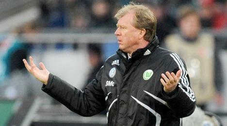 Wolfsburg sack McClaren