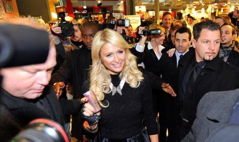 Paris Hilton says she 'wants to learn about Stuttgart 21'