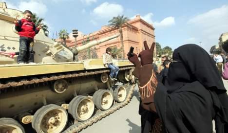 Merkel compares Egypt to Eastern Europe
