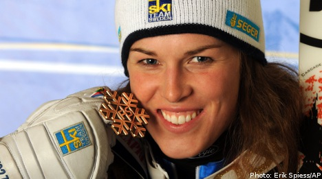 Sweden's Pietilä Holmner claims world ski bronze