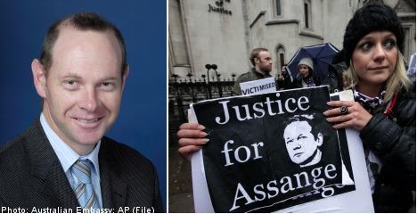 Australia appeals to Sweden over Assange