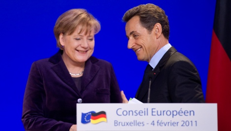 Merkel's tough euro plan sparks backlash