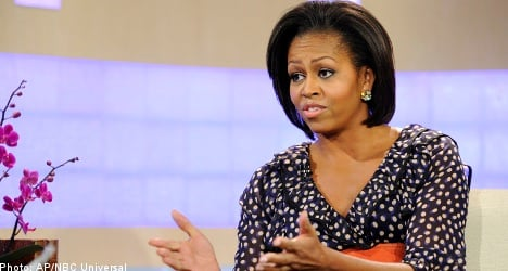 Michelle Obama wears $35 H&M dress on TV