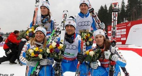 Swedes claim team bronze at ski worlds