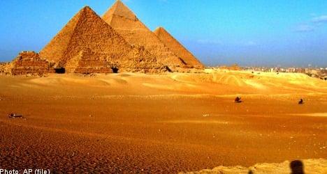 Sweden's Egypt travel warning unchanged