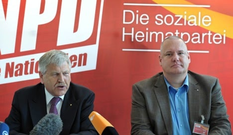 NPD banned from taking Frankfurt census