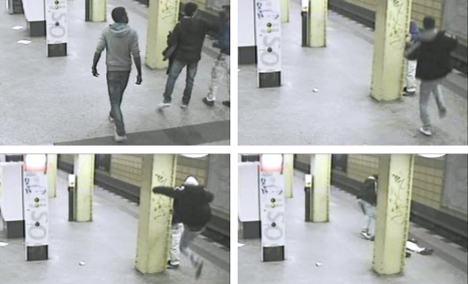 Teens arrested for brutal metro attack