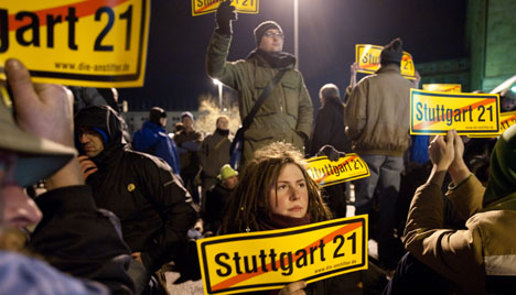 New protests erupt over Stuttgart 21 rail project