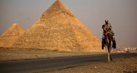 Sweden gives green light to Egypt travel