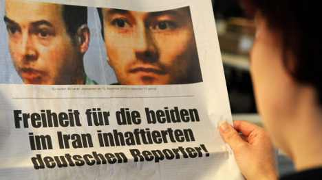 Iran frees two German reporters