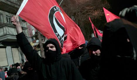 Dozens arrested as leftists battle police