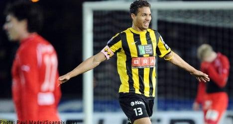 Swedish football star attacked by girl gang