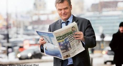 Swedish publisher Metro swings to profit in 2010