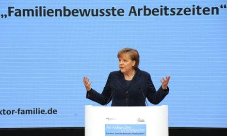 Merkel slams dearth of female executives