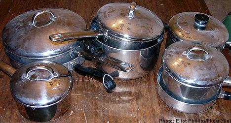 Pots and pans sound hospital patient alarms