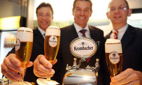 Krombacher profits bubble up thanks to soft drink sales