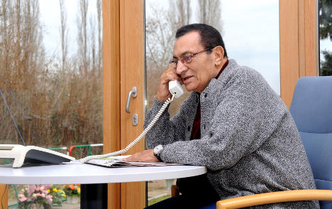 Mubarak rejects medical trip to Germany