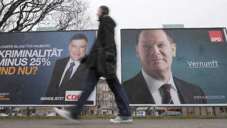 SPD and Greens set for power in Hamburg