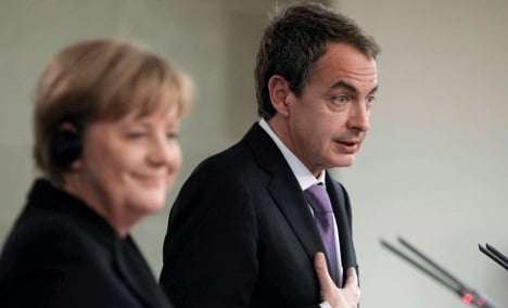 Spain has 'done its homework,' Merkel says