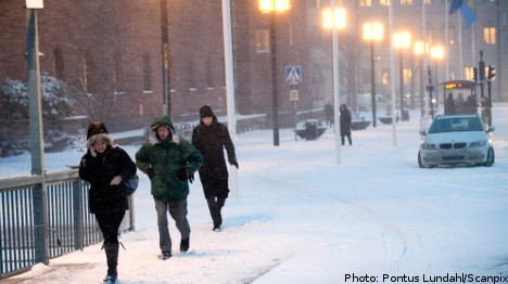 Deep freeze set to hold for several weeks