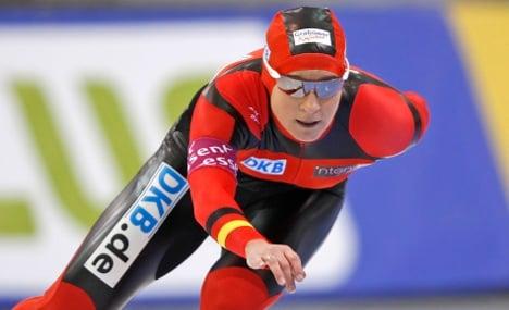 Speed skater Pechstein set on Olympics despite doping ban