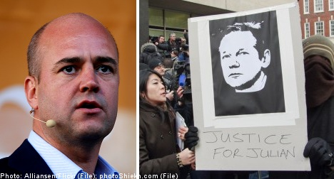 Swedish judiciary 'independent': Reinfeldt